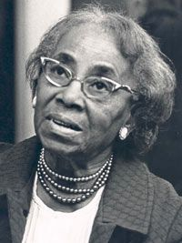 Septima Poinsette Clark (1898-1987), born in Charleston, SC, branched out into social action with the NAACP while working as a teacher. As part of the Southern Christian Leadership Conference, she set up citizenship schools that taught regular people how to instruct others in basic literacy & math skills. This teaching enabled more people to register to vote (at the time, many states used literacy tests to disenfranchise African Americans). She helped found @ 900 citizenship schools.