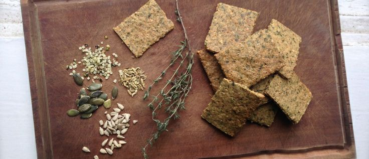 """NEW RECIPE: A great cracker for nut free school snack options, and loads of allergy friendly boxes ticked. One thing they're not missing, is flavour though. Enjoy! xx """"Free From Lots"""" Crackers – Sweet or savoury"""