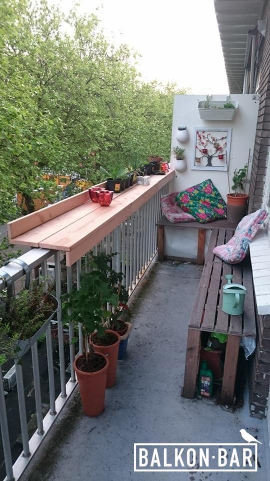 Balkon.bar. Decorated.