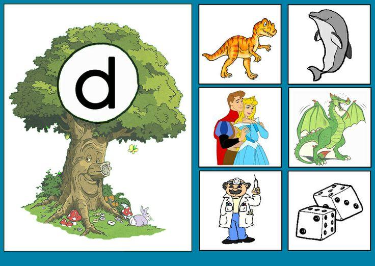* Sprookjesboom: Letterkaart D