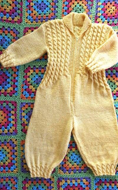 vauvan haalari neule   Langanmenekki (g)