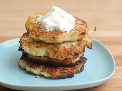 Turnip and Potato Patties. I am addicted to potato pancakes... pretty ...