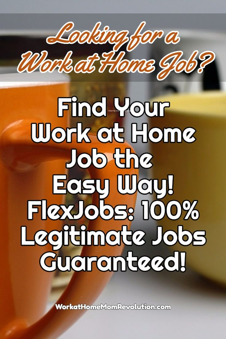 images about job find your work at home job the easy way flexjobs