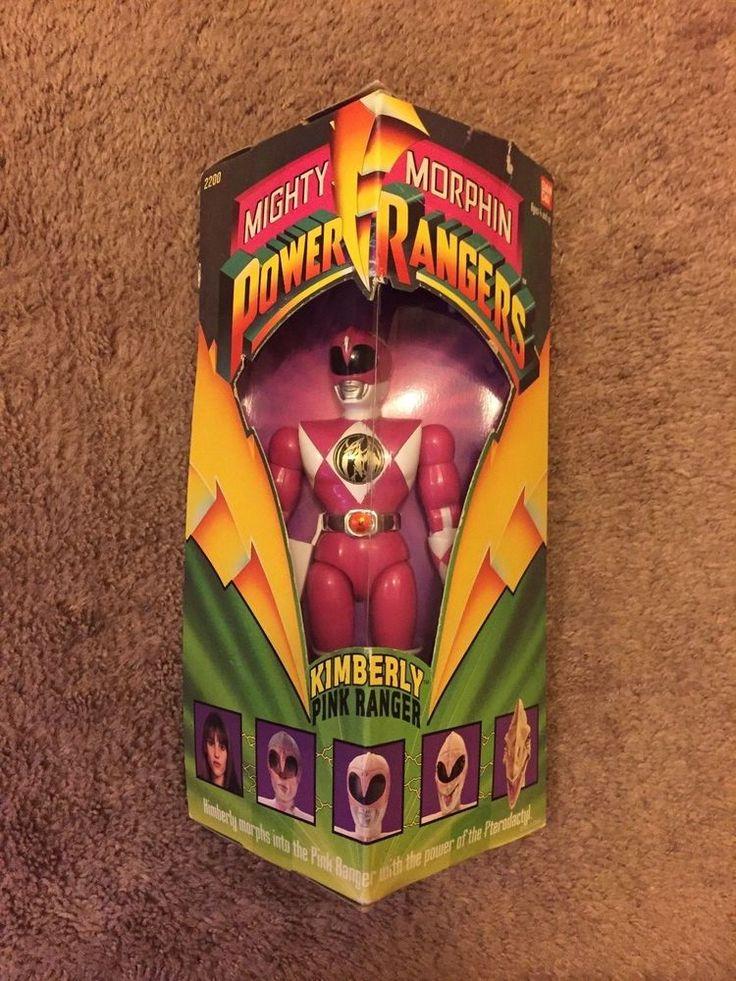 Ban Dai Mighty Morphin Power Rangers Kimberly Pink Ranger 8in