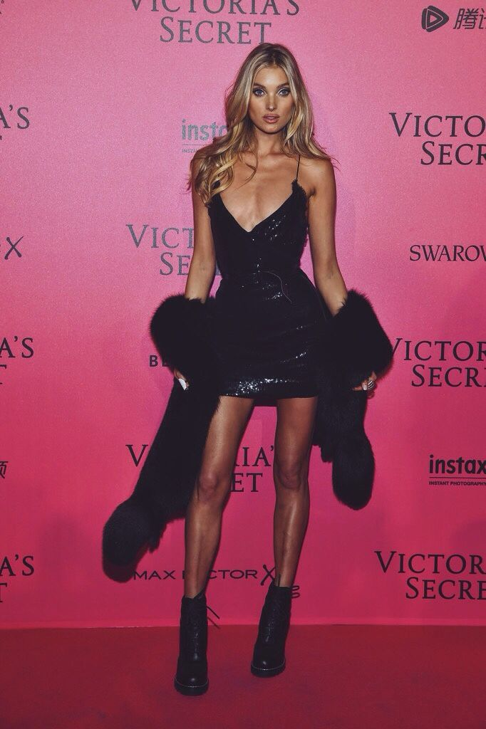 Elsa Hosk at Victoria's Secret after party 2016 #VSFS #VSFS_2016