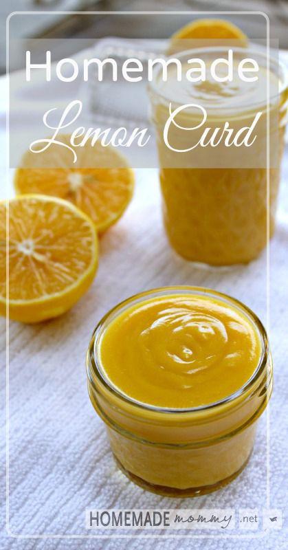 Homemade Lemon Curd | www.homemademommy.net