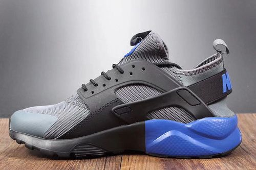 951885ed3b4d Company Products Nike Huarache 4th Huarache 4th Grey Blue Black Custom  Model Nike Air Huarache Ultra .