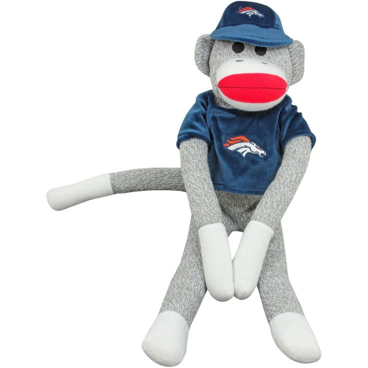 Denver Broncos Uniform Sock Monkey