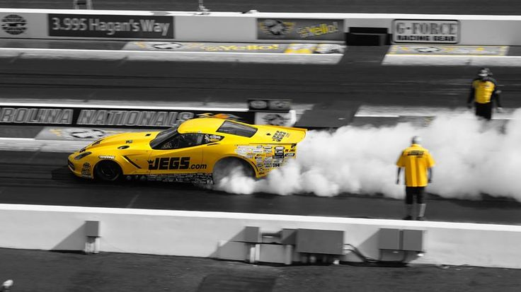 Cool shot created by JEGS Fan, Phil Parks! #jegs #troy #promod #NHRA #turbo #corvette #chevy #chevrolet #dragrace www.jegs.com