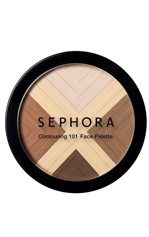Conturarea fetei cu ajutorul Sephora Contouring 101 Face Palette (tutorial) on Beauty First http://www.beautyfirst.ro