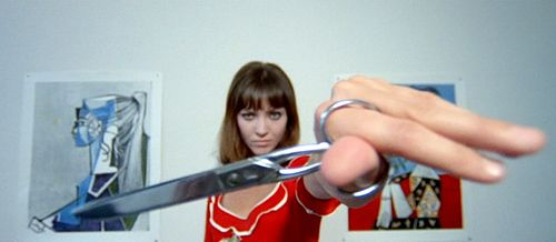 Anna Karina. Pierrot le Fou. Godard. 1965
