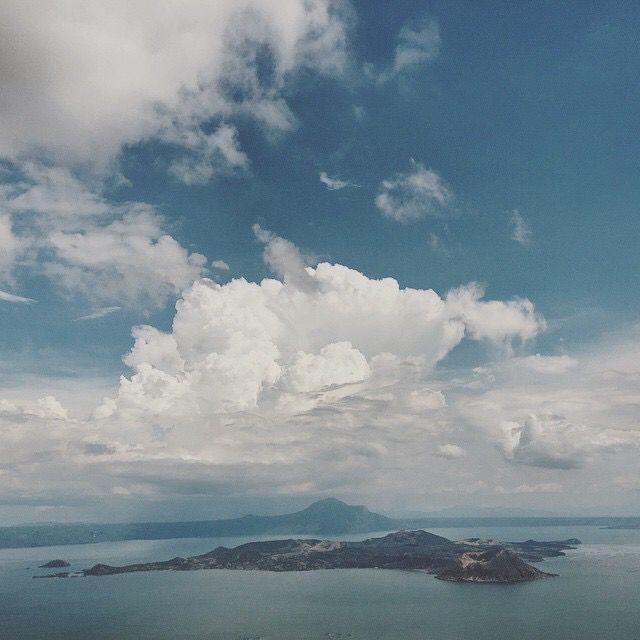 Taal Volcano.