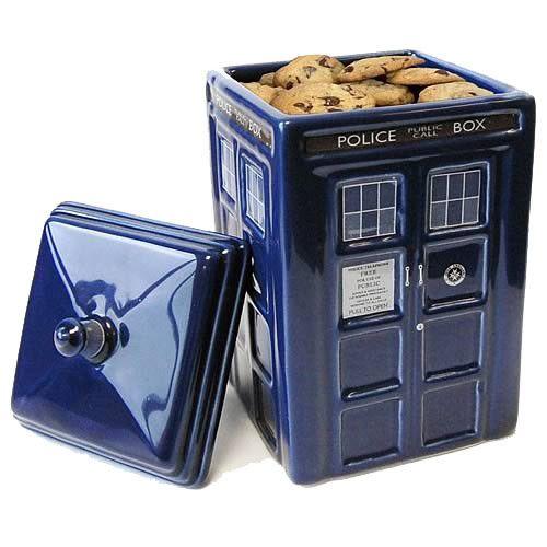 Doctor Who Plätzchendose Tardis  coole Plätzchendose aus der berühmten TV-Serie `Doctor Who` - Offiziell lizenziert - Material: Keramik - Maße: 24 x 14 x 14 cm Doctor Who Plätzchendosen - Hadesflamme - Merchandise - Onlineshop für alles was das (Fan) Herz begehrt!