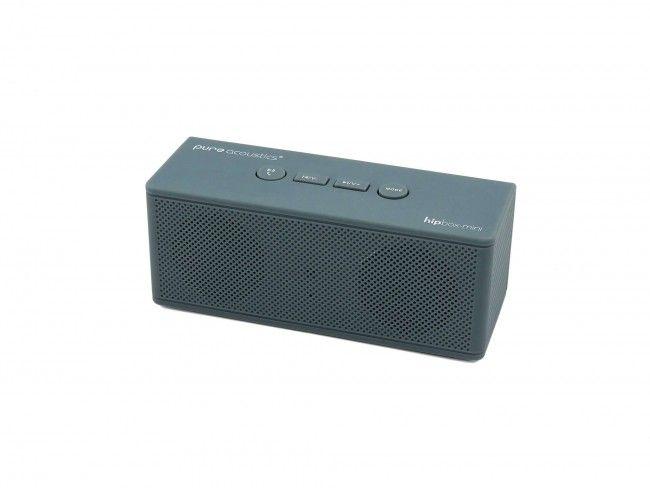 Pure Acoustics Hipbox Mini grijs - Radio's met Bluetooth - Radio's - 123platenspeler.nl