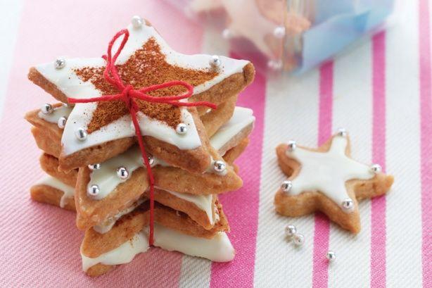 Macadamia Shortbread Stars Recipe