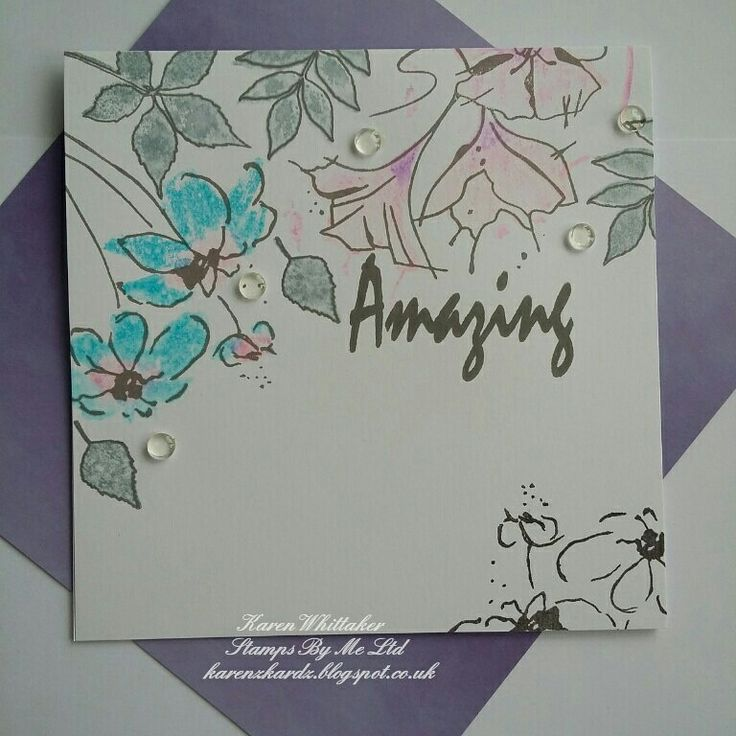 Amazing Daisy lamination stamp by Stamps By Me  #stampsbyme #dtsample #Amazingdaisy #lamination #flowers #distressinks #stamps #stamping #card #creative #craft #ilovetocraft #creativity