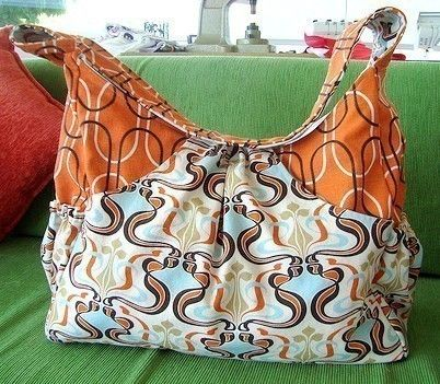 Go Mama Diaper Bag Pattern by UberDomestic on Etsy, $7.75