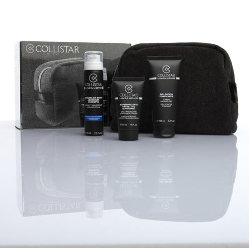 COLLISTAR  Collistar Uomo  Formule specifiche per l'epidermide maschile a base di vitamine e sostanze naturali che idratano, proteggono e conferiscono vitalità alla pelle.