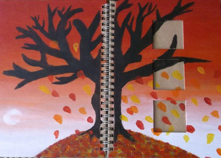 Red Tree Scrapbook