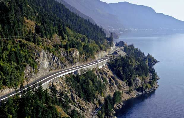 Sea to Sky Highway, Vancouver to Whistler, British Columbia