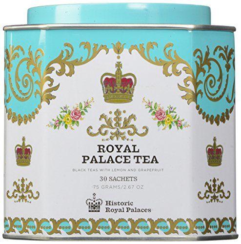 Harney & Sons Royal Palace Tea Sachets 30 count in Historic Royal Palaces Tin