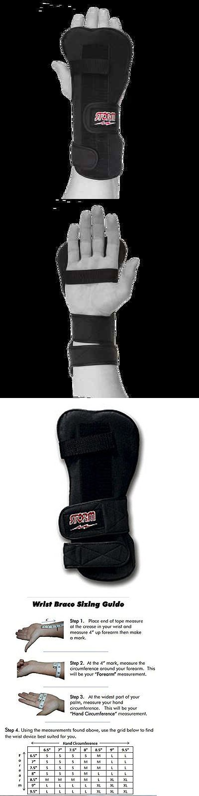 Gloves 111256: Storm Bowling Wrist Support Right Hand Large Xtra-Roll Wrist Support In Black -> BUY IT NOW ONLY: $38.99 on eBay!
