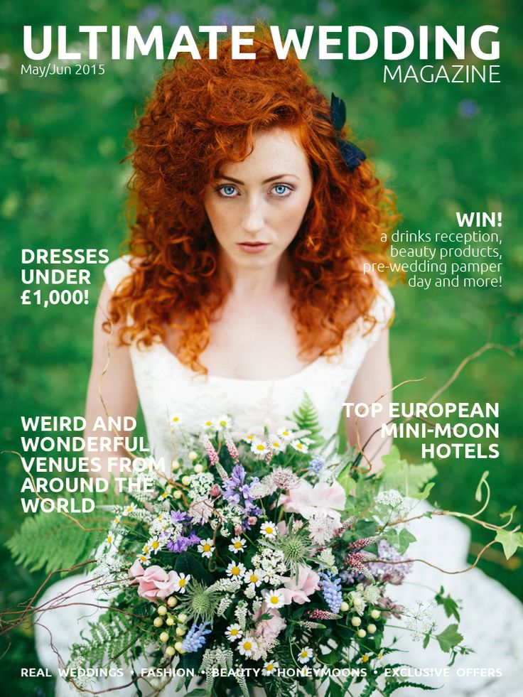 May/Jun 2015 Issue 16 cover. Download now: http://bit.ly/uwmmayjun2015 - #wedding #bridal