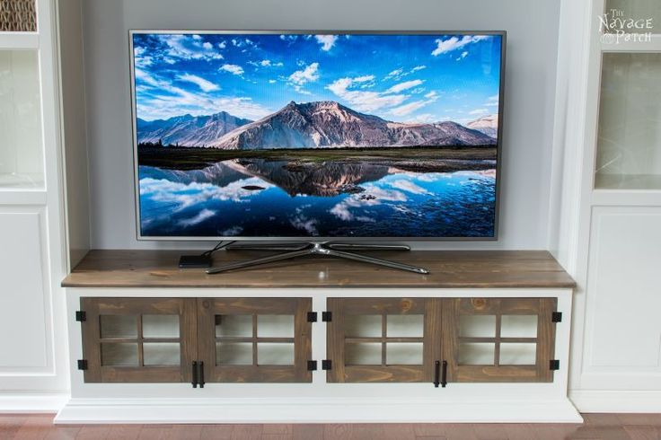 how to make a media cabinet