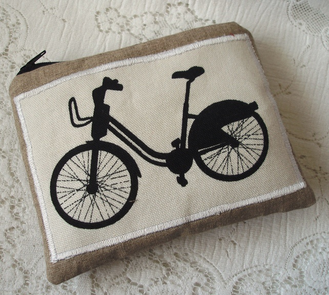 Bicycle purse £5.50