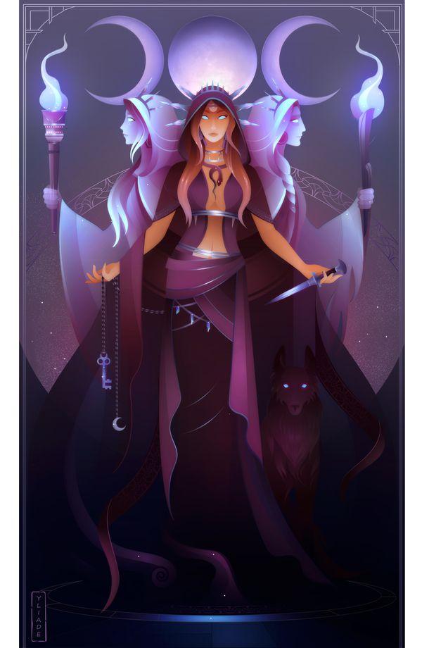 Black goddess Loria by Zeliga on DeviantArt