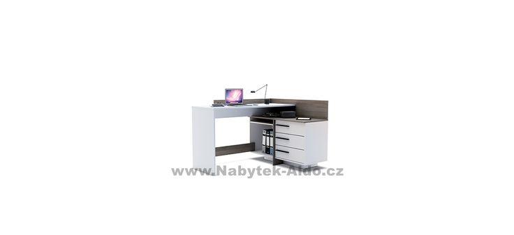 Rohový psací stůl Thales 484879