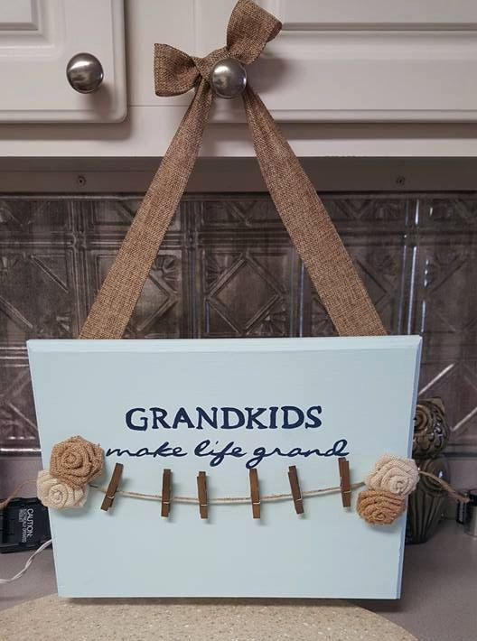 Grandkids make life grand by ForeverEdge on Etsy