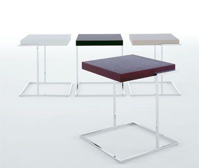 Pianca Mesas laterales servoquadro en diferentes acabados.