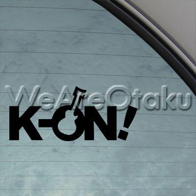 K Anime Logo on Logo Anime Cartoon Music Band Decal Car Sticker | eBay ...