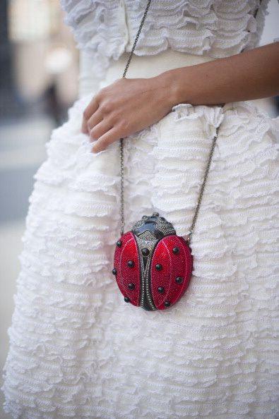 Street Style: New York Fashion Week Spring/Summer 2014. via #marieclaireaustralia