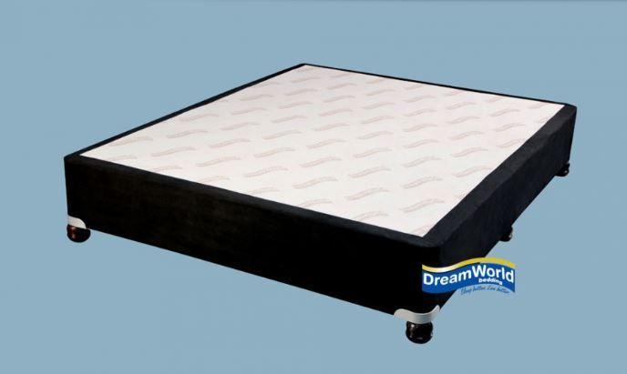 Suede Bed Base Black