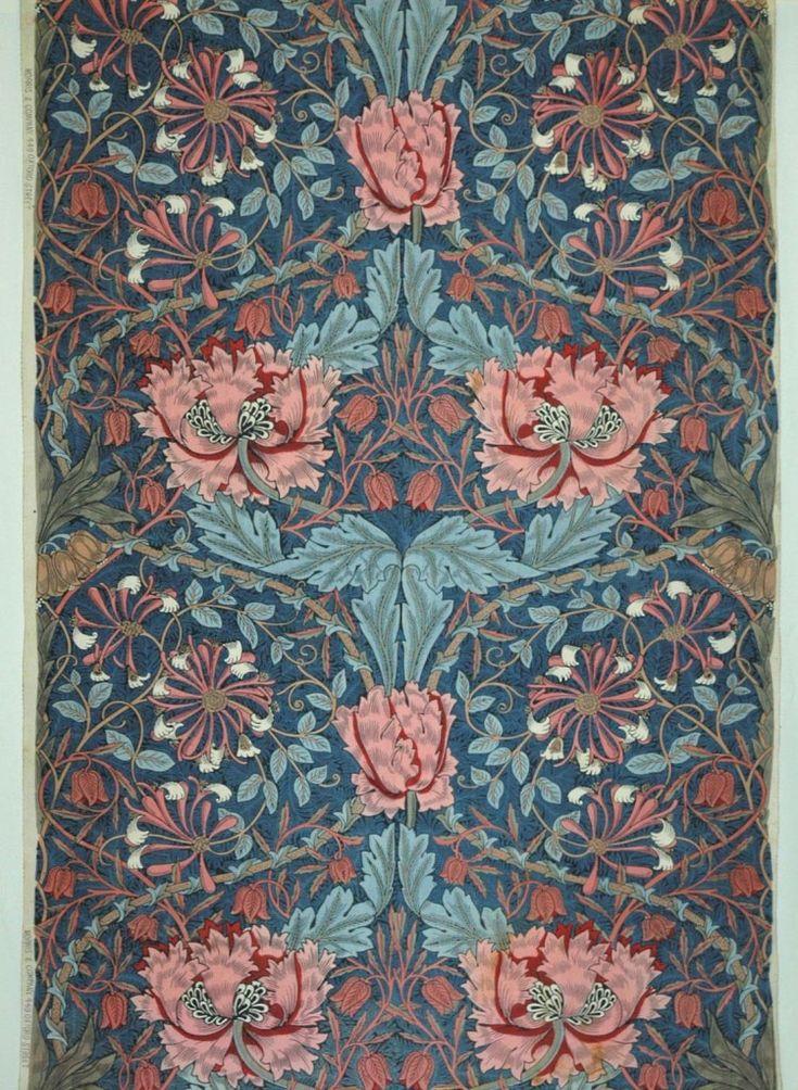 William Morris, Honeysuckle. MAK Vienna