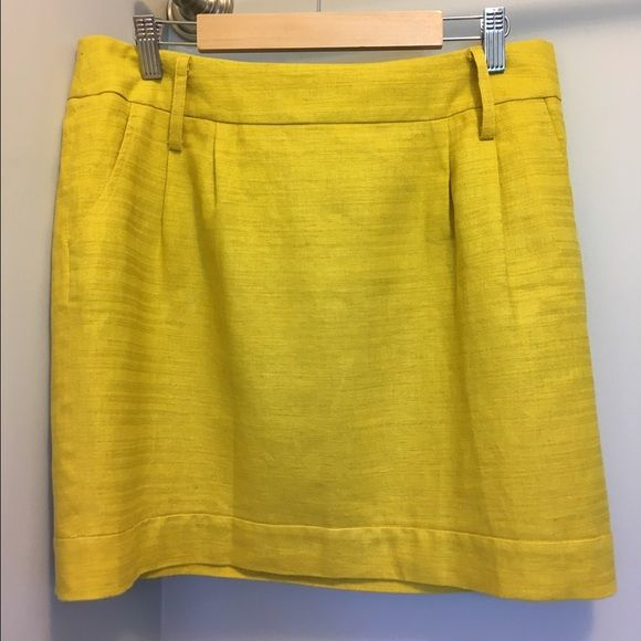 """Mustard Yellow Skirt New with tags! Includes cute black elastic belt. Across the waist measures 16.25"""", and the length from top to hem is 16.75"""". Forever 21 Skirts"""