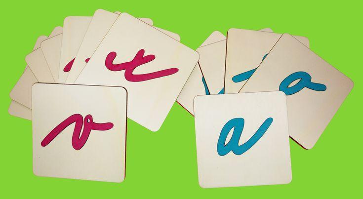 Kartičky abeceda malá psací