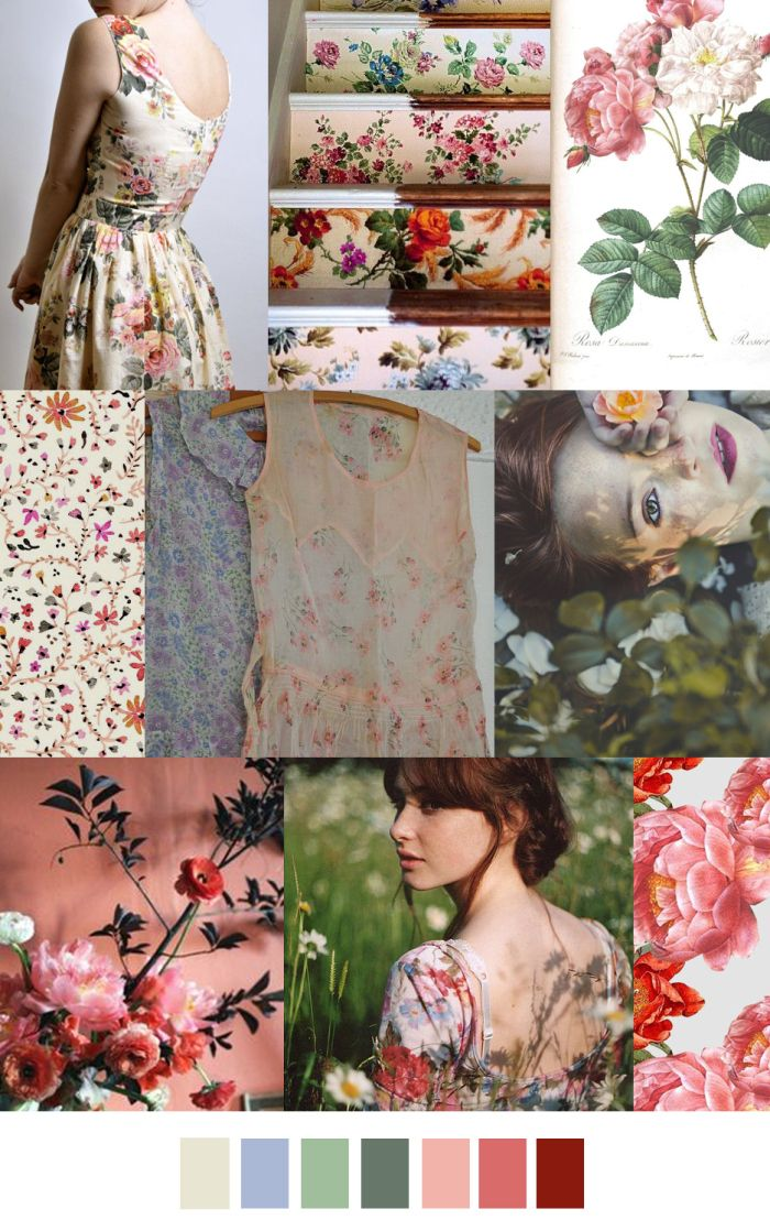 TREND #Summer2017 Sources@patterncurator GARDEN VARIETY