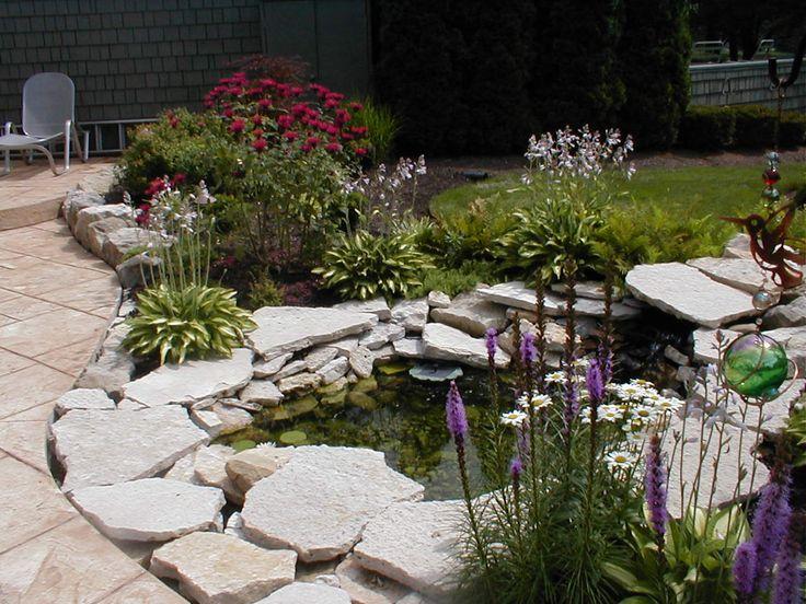 38 best landscape ideas images on pinterest | backyard ideas ... - Patio Pond Ideas
