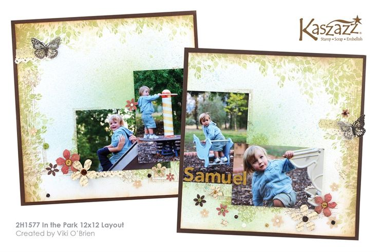 2H1577 In the Park 12x12 Layout