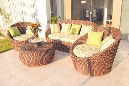 Muebles de ratán y mimbre | Balcony design, Tropical design and ...