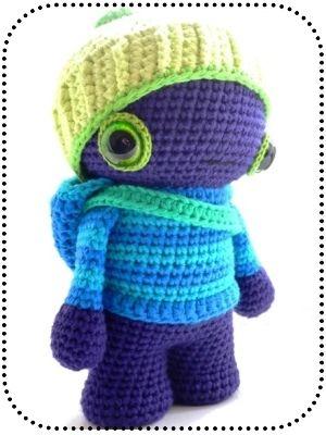 angorafrosch world of grumi knitted crochet toys pinterest basteln und selber machen. Black Bedroom Furniture Sets. Home Design Ideas