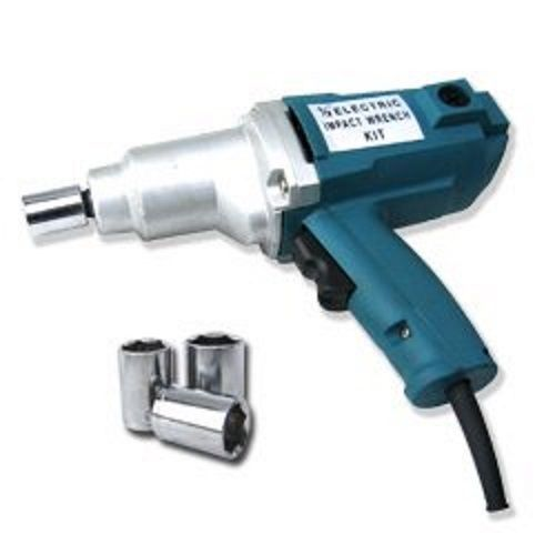 "New 1/2"" Electric Impact Wrench Gun Set w/ Case & Sockets Driver Free Shipping! #RRCTT"