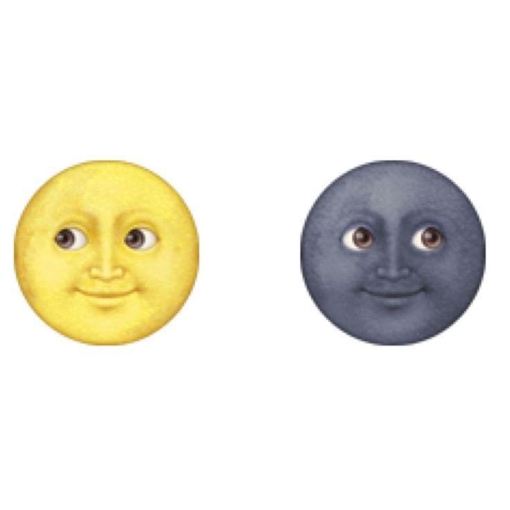💖 Garage Rockets 💖                  - Sun & Moon Emoji Button Pin Set 2pc