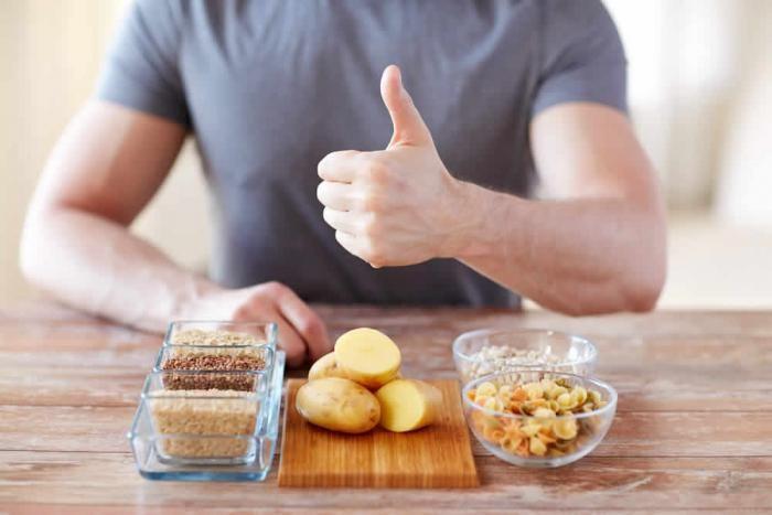 تعتبر النشويات مهمة للاعب كمال الأجسام سواء قبل أو بعد التمرين والبطاطا مصدر جيد للنشويات لكن أي من البطاطا البيضاء أم ال Healing Diet Food Runners Meal Plan