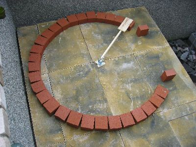 DIY Brick Pizza Oven - great tutorial for building the dome