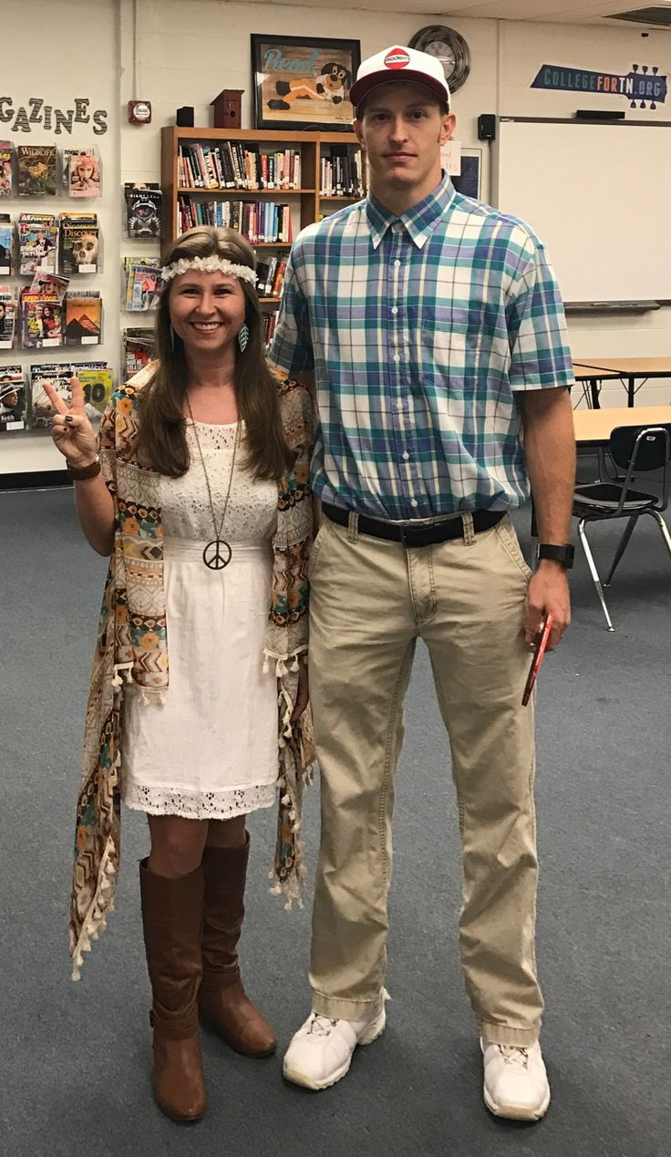 Forrest Gump and Jenny costume. Halloween couple. Dynamic duo