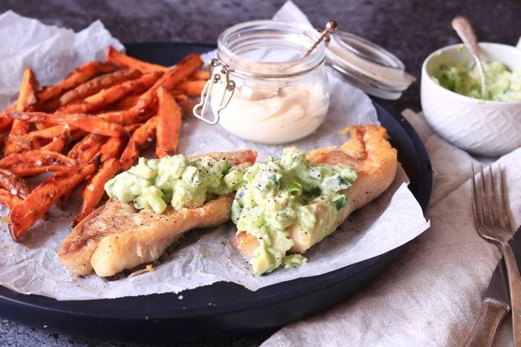 Gesponsord - Écht knapperige zoete aardappelfriet, dat is zó hemels. In combinatie met een lekker krokant op de huid gebakken visje heb je eigenlijk net een w